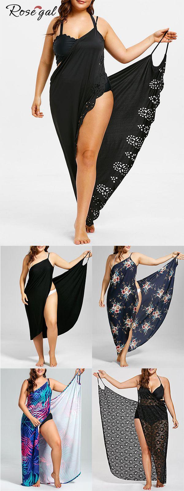 Rosegal plus size  bikini cover ups perfect for swimsuits