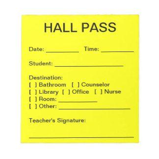 17 best ideas about Hall Pass on Pinterest | Teacher, Bathroom ...