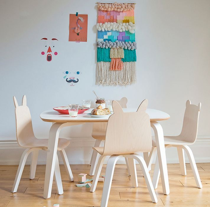 Play table and chair set kidsinteriordesigns.com.au