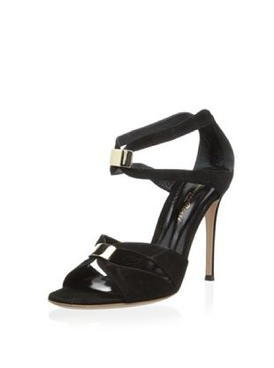 50% OFF Gianvito Rossi Women's Camnero Strappy Pump (Black)