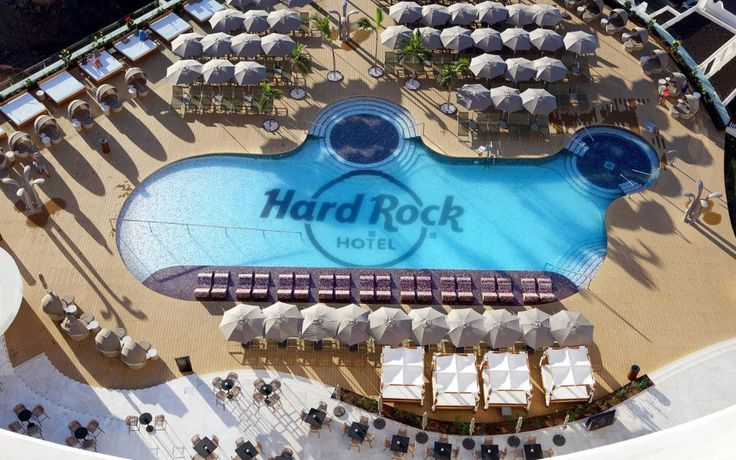 You've been entered into a prize draw for the chance to win a five-night stay for two people at the Hard Rock Tenerife.