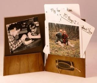 Make Father's Day extra special this year with a photo card!Holiday, Hobbies Lobbies, Happily Married, Folder Cards, Extra Special, Grandparents Gift, Crafts Ideas, Crafts Fathers, Gift Ideas