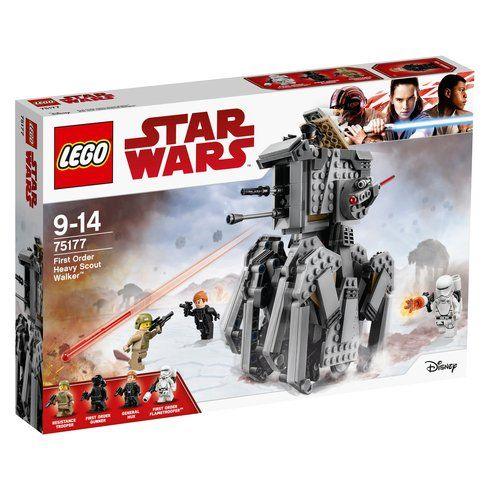 Superb LEGO 75177 Star Wars First Order Heavy Scout Walker Now At Smyths Toys UK! Buy Online Or Collect At Your Local Smyths Store! We Stock A Great Range Of LEGO Star Wars At Great Prices.