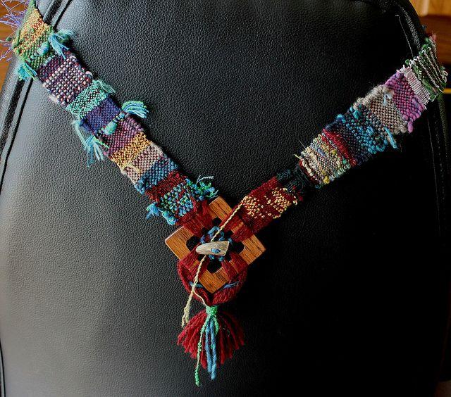 saori-style necklace