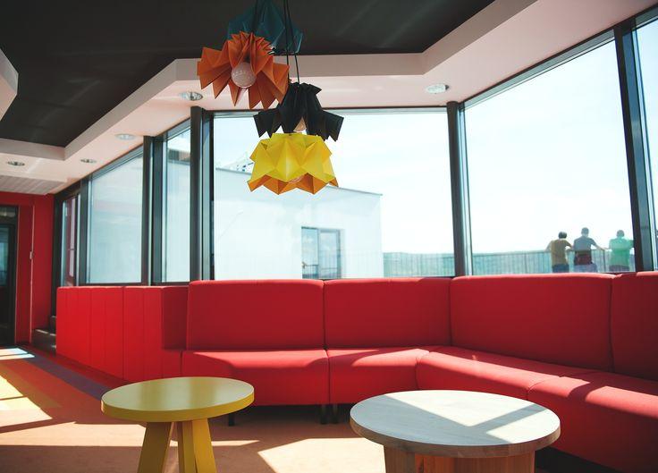 Break Room, designed by Morphoza, for Fortech, Cluj-Napoca