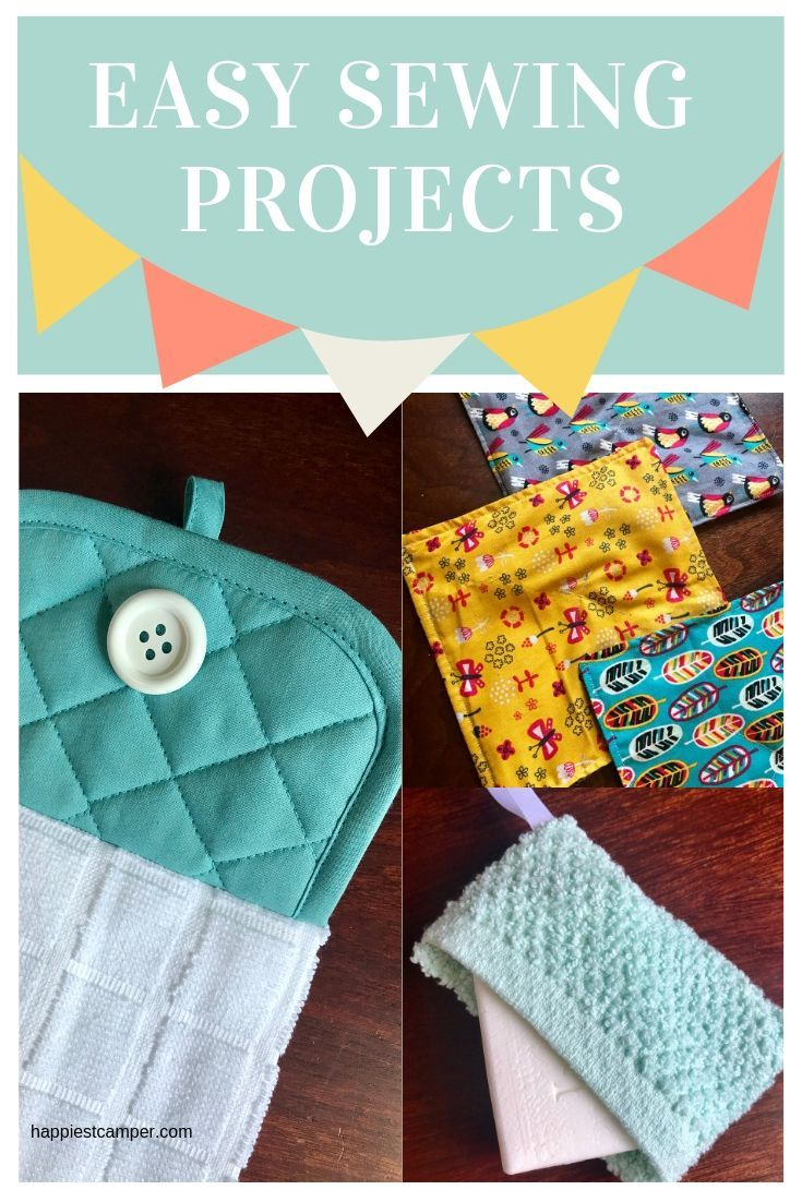 Sew simple sewing projects for beginners or sell at craft fairs #   – Crafts from Happiest Camper