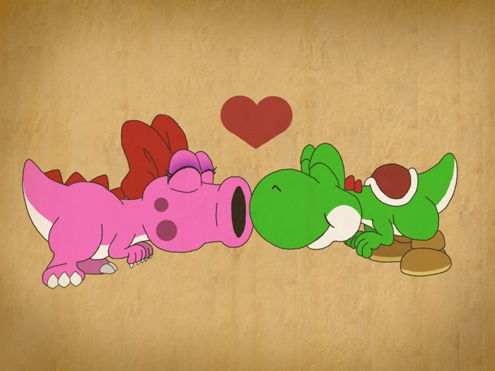 The cute and funny female Birdo (partner of yoshi) ; And a really confused birdo who thinks he is a girl. Description from sarahruthless.deviantart.com. I searched for this on bing.com/images