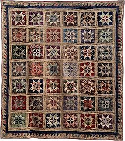 Civil war quilt 'Carolyn Parks'