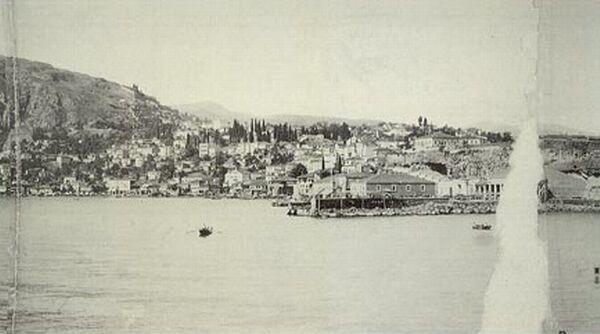 Trebizond, Pontos. A view of the city around 1890.