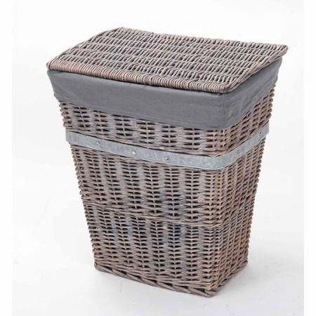 Better Homes and Gardens Wicker -this would make a cute trash container