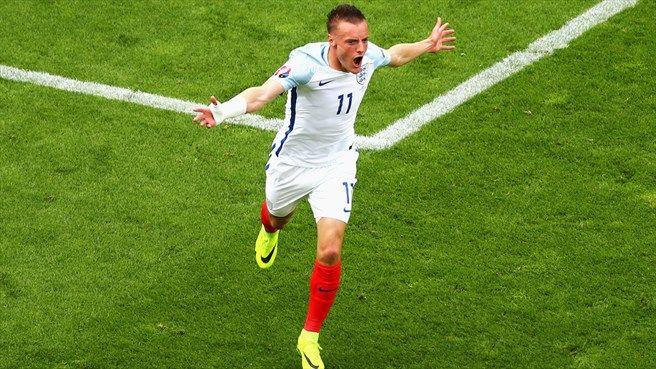 Jamie Vardy (ENG) - Equalizing Goal - England vs Wales 2-1 - Group Stage UEFA Euro 2016