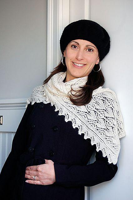 Ravelry: Botanie Lace Scarf pattern by Hélène Rush
