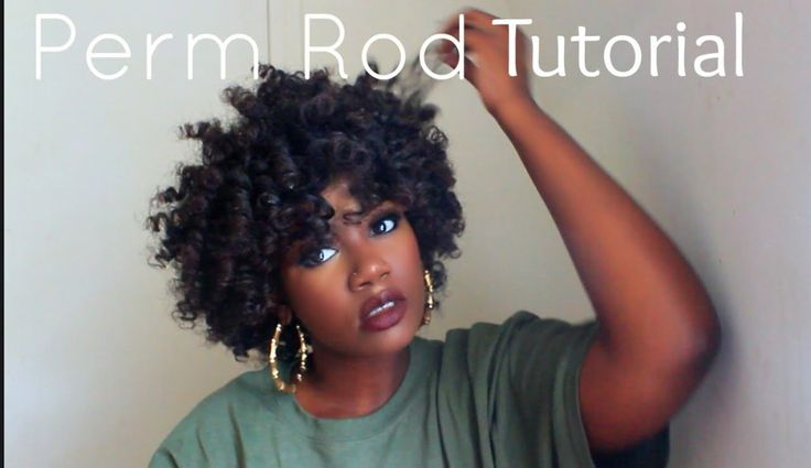 Perm Rod Set [Video] - http://community.blackhairinformation.com/hairstyle-gallery/natural-hairstyles/perm-rod-set-video/
