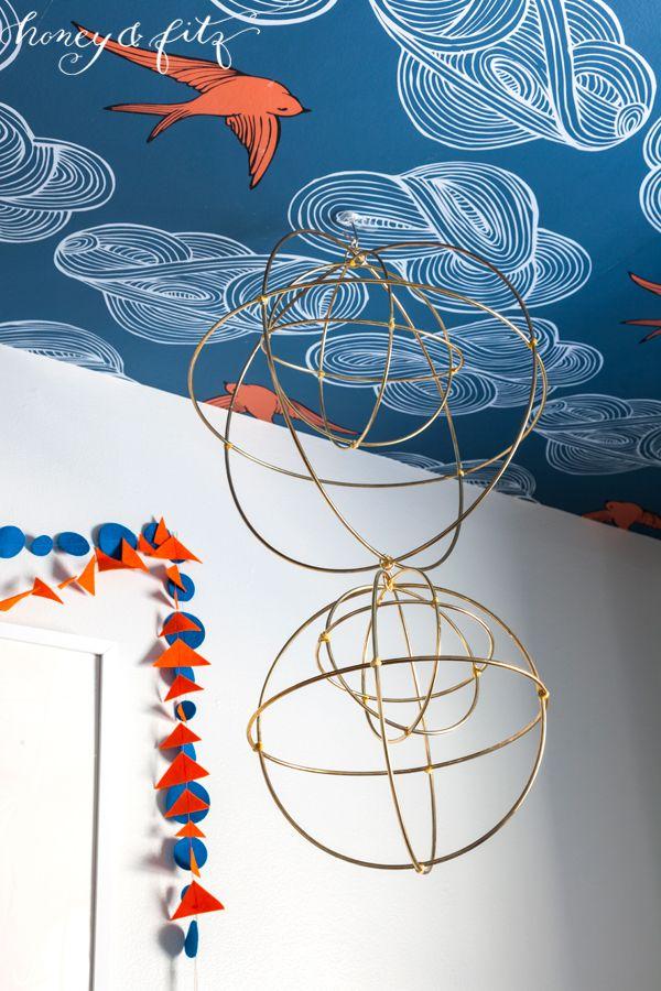 Honey-and-Fitz-Benedict's-Icelandic-Blue-and-Orange-Nursery-Mobile