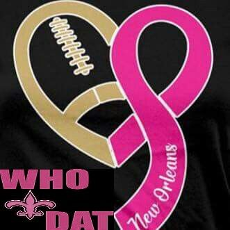 New Orleans Saints Breast Cancer Awareness
