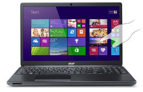 Acer Aspire E1-572P-6857 15.6-Inch Touchscreen Laptop (1.7GHz Intel Core i3-4010U Processor, 6GB DDR3L, 750GB HDD, Windows 8.1) Clarinet Black