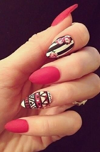 Not a fan of the nail shape...but really cute design