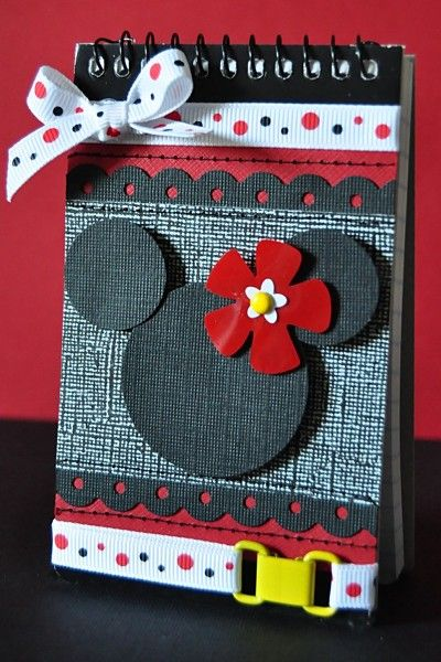 Minnie notebook cover ... cute