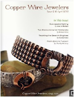 Open Publications - Inspirational Copper Wire Jewelers eMagazine - The Beading Gem's Journal