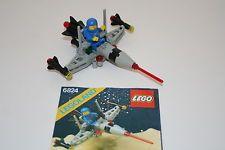 * LEGO 6824 Space Classic Raumfahrt aus 80er Jahren mit Bauanleitung *