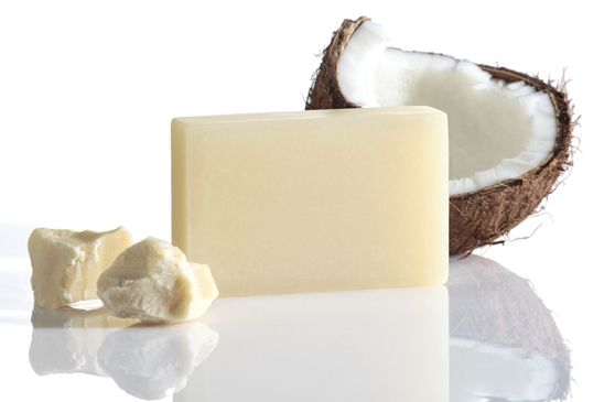 Coco - Shea szappan // Coco and Shea Butter Soap  SLS-free, paraben free, chemical free, against animal testing
