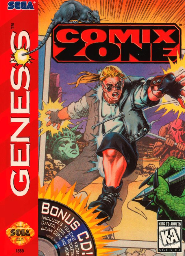 Check out this new review of Comix Zone for the Sega Genesis/Mega Drive!