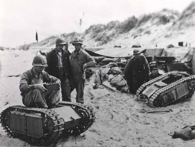 Uzaktan kumandalı araçlar ve Naziler