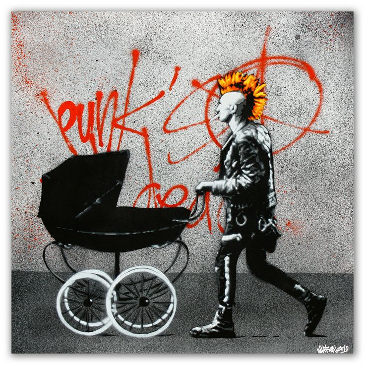 Punk's not dead by Martin Whatson
