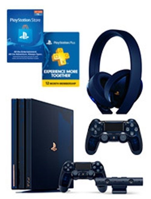 ps4 pro limited edition 500 million price