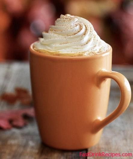 Homemade Pumpkin Spiced Latte (Starbucks Copy Cat Recipe) need to make this with soy milk :) yum!