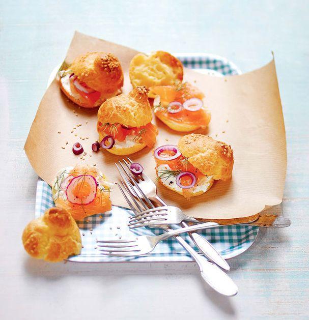 Petits choux bagels - Livre Petits Choux Ed. Larousse Cuisine