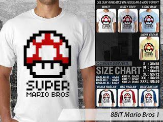 OMAH STORE: 8 BIT Mario Bros 1