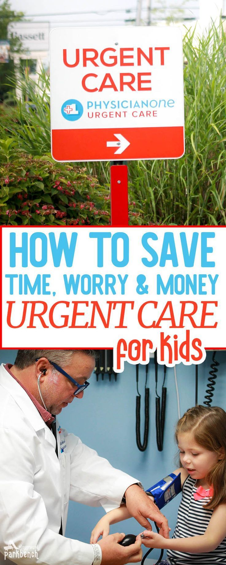 Urgent care centers can help bridge the gap between primary care and ER visits #AD Open 365 days a year, with extended hours, you can get urgent care for kids when you can't visit your pediatrician, and for non life-threatening illnesses and injuries. Learn more about how urgent care for kids can save you time, worry and money | Kids Health | Kids Healthcare | Family Finances | Family Health | Family Healthcare