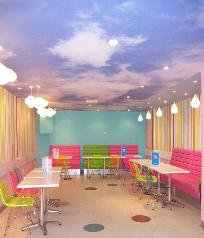 Sweet Ice Cream Parlour by AbsoLivingLutely Interiors #interiors #restaurantdesign