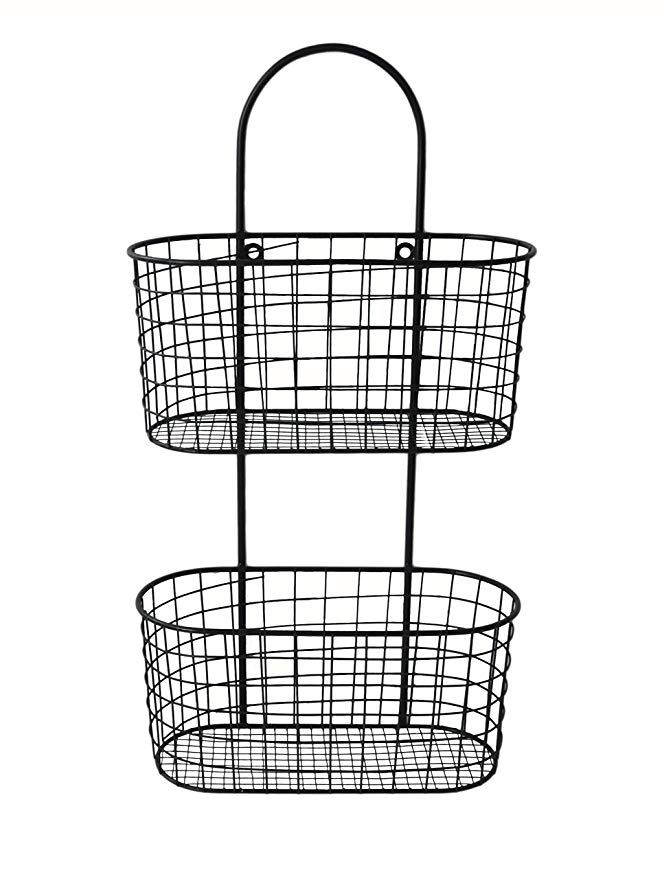 Cheung S Fp 3915 Metal Wall Hanging Storage Basket Wall Mounted Wire Baskets Wall Basket Storage Storage Baskets