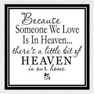 Loved Ones in Heaven Quotes - Bing images