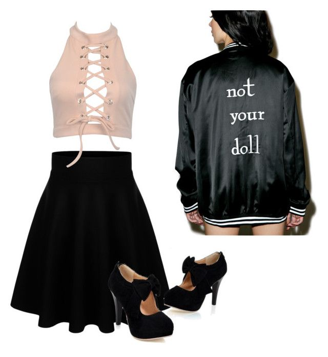 """not r doll"" by oliviasjstad on Polyvore"