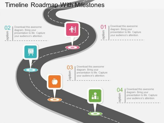 road map powerpoint template free roadmap powerpoint