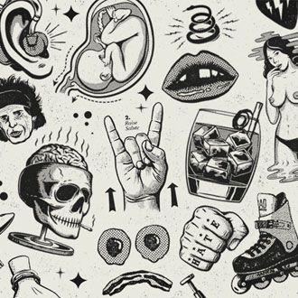 Me pongo de pie y me quito el sombrero ante el maravilloso trabajo de ilustración y diseño de Andrew Fairclough quien trabaja desde Australia bajo el nombre de Kindred Studio en cualquier proyecto donde la ilustración tenga el foco de atención. No se lo pierdan!!!Kindred Studio