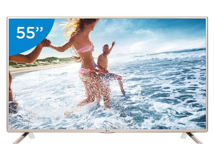TV LED 55 LG Full HD 55LF5650 Conversor Digital 2 HDMI 1 USB - TV LED - Magazine Luiza