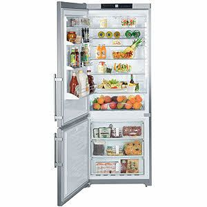 "Liebherr. 30"" fridge. CS 1611: Glass Shelves, Refrigerators, Counter Depth Bottom Freezer, Cs1611 Liebherr, Freezers, Liebherr Cs1611, Bottom Freezer Refrigerator, Appliance"
