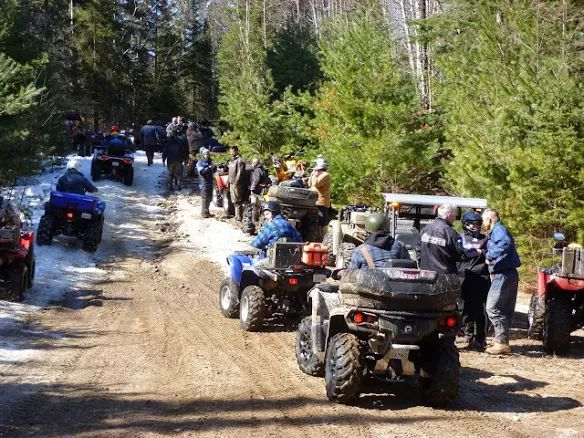 http://www.sandlake.on.ca  Visit the Algonquin West ATV Club in Kearney Ontario if you are looking for amazing trails for your ATV Trip