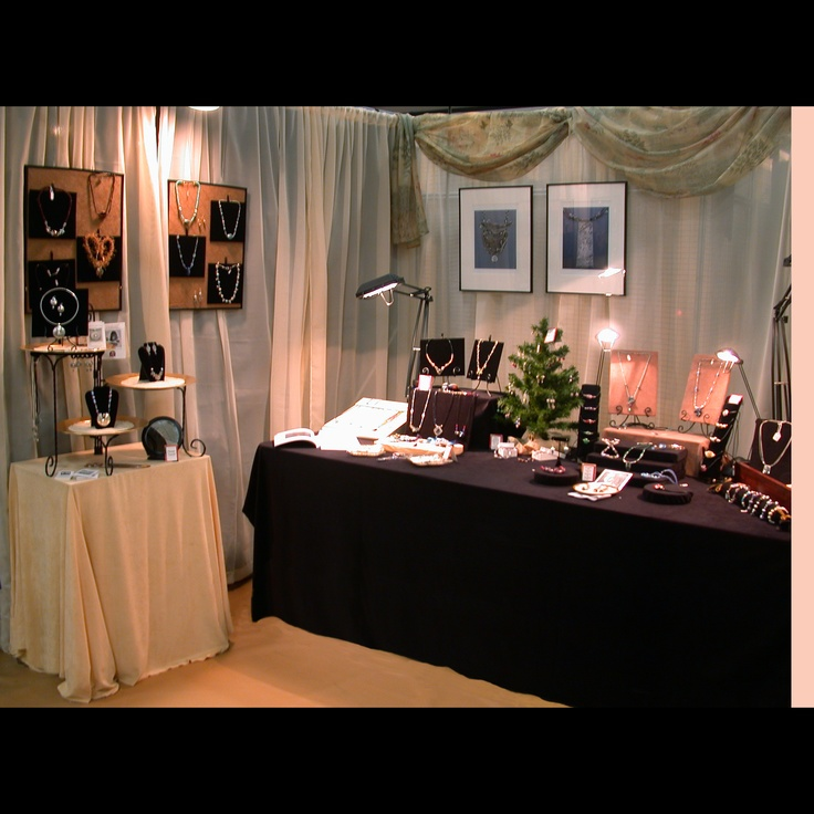 93 best images about bridal show display ideas on for Jewelry display trade show