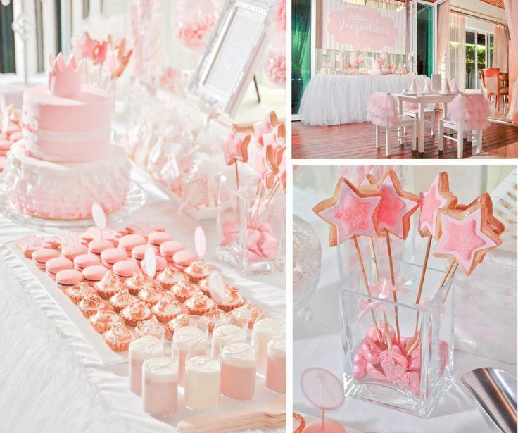 Daddys little PRINCESS ballerina themed birthday party via Karas Party Ideas karaspartyideas.com #ballerina #girl #princess #themed #birthday #party #ruffle #cake #idea #supplies #decor