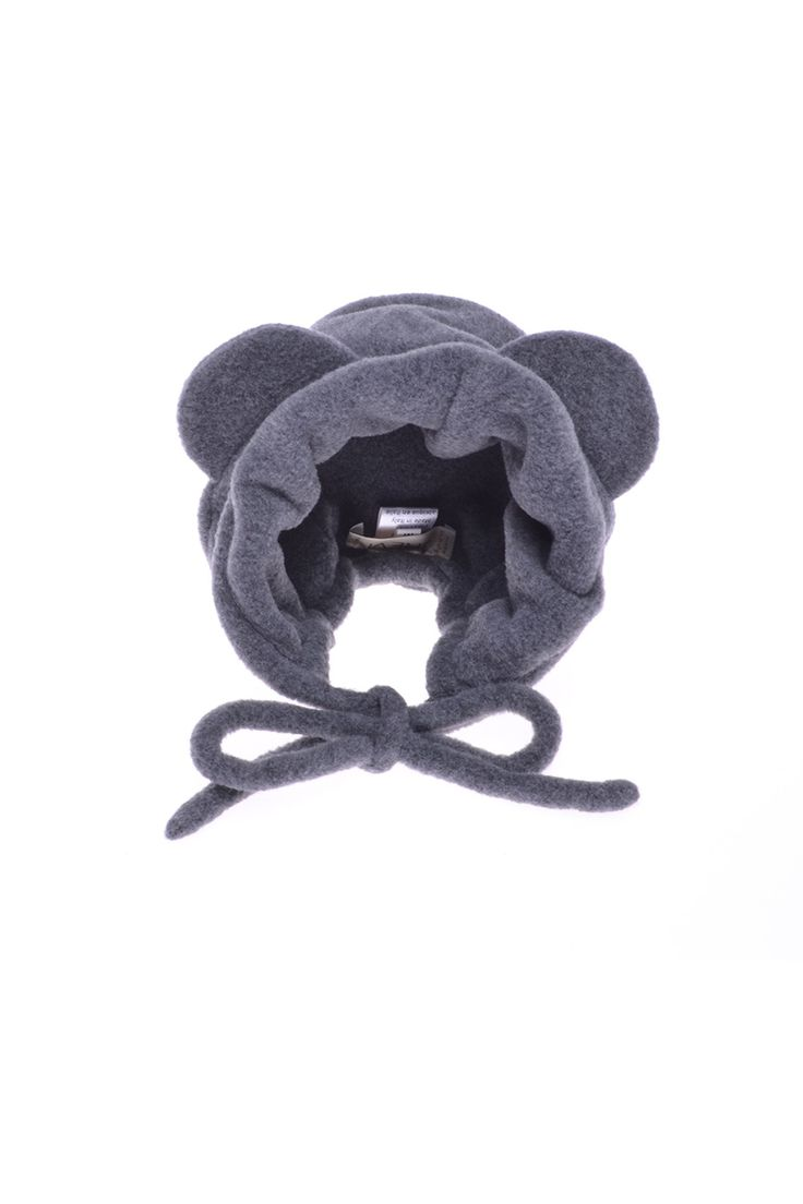 Grevi - шапка на завязках, декорирована ушками http://oneclub.ua/shapka-16294.html#product_option14