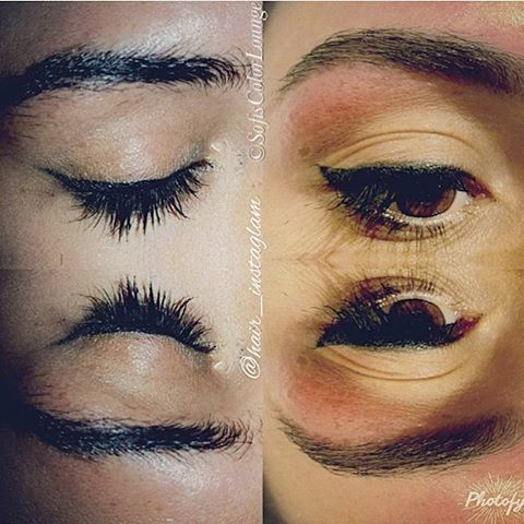 Before & After #eyebrow #waxing by @glamhair_bykaren # ...