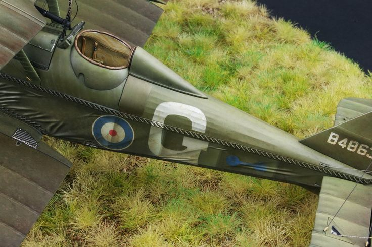 "Diego Quijano Scaleworks: The ""Flying Hisso"" work: Wingnut Wings 1/32."