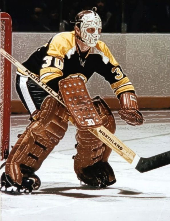 Boston Bruins Gerry Cheevers