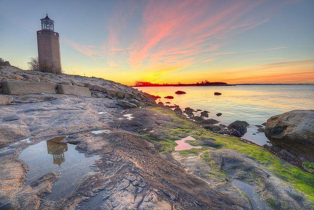 Avery Point Lighthouse, Groton, Connecticut