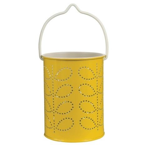 Orla Kiely, Tealight Lantern Yellow making my home lovely on a budget